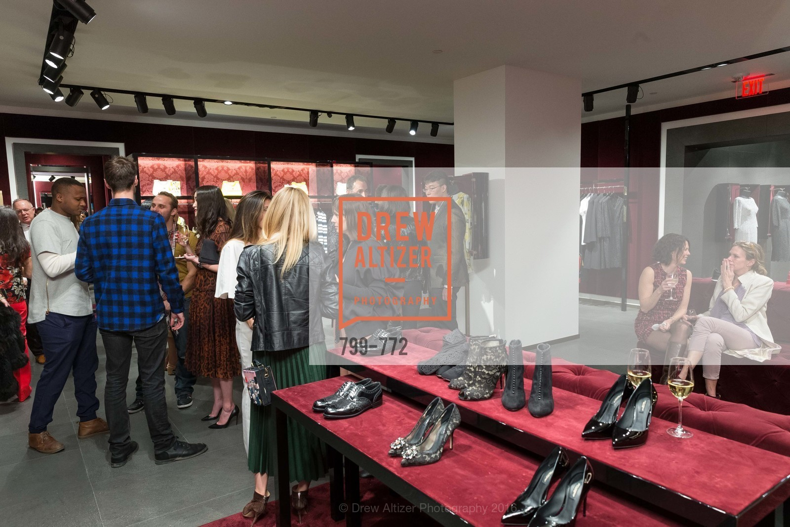 Atmosphere, Dolce and Gabbana Boutique Opens Spring, Dolce and Gabbana Boutique, January 27th, 2016,Drew Altizer, Drew Altizer Photography, full-service agency, private events, San Francisco photographer, photographer california