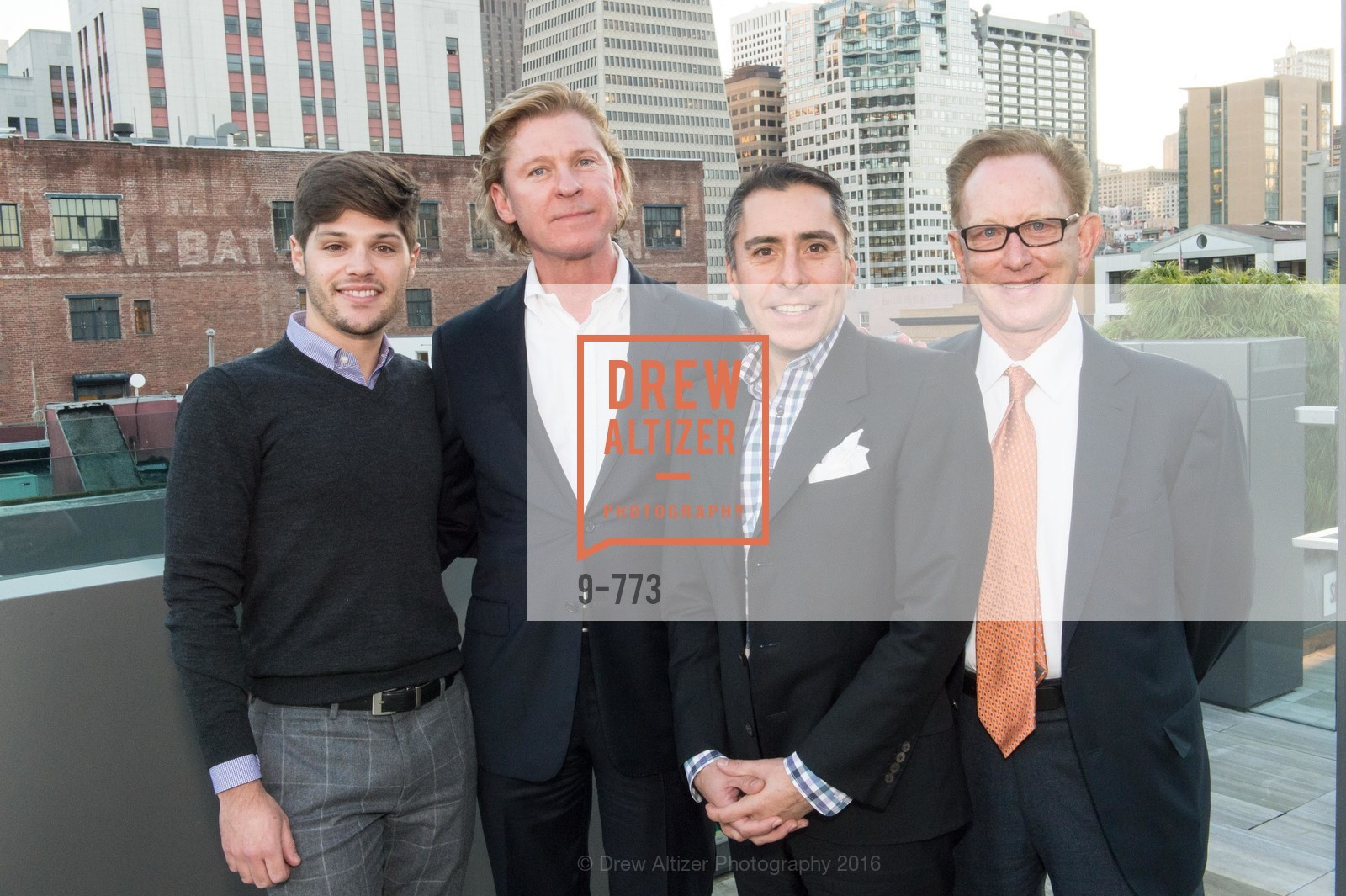 Jonathan Bentley, Jeffrey Wall, Paul Ybarbo, Richard Bastoni, Sotheby's International Realty's Celebrates the New Year, The Battery, Penthouse. 717 Battery St, January 27th, 2016,Drew Altizer, Drew Altizer Photography, full-service agency, private events, San Francisco photographer, photographer california