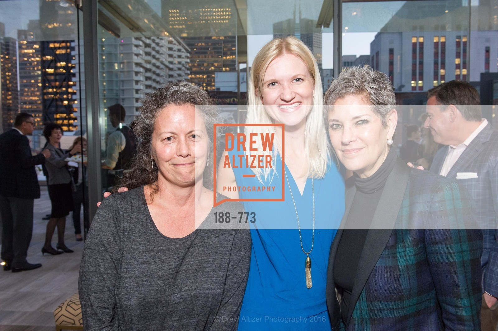 Debbie Koehler, Hollis Bathen, Mary Lou Castellanos, Sotheby's International Realty's Celebrates the New Year, The Battery, Penthouse. 717 Battery St, January 27th, 2016,Drew Altizer, Drew Altizer Photography, full-service event agency, private events, San Francisco photographer, photographer California
