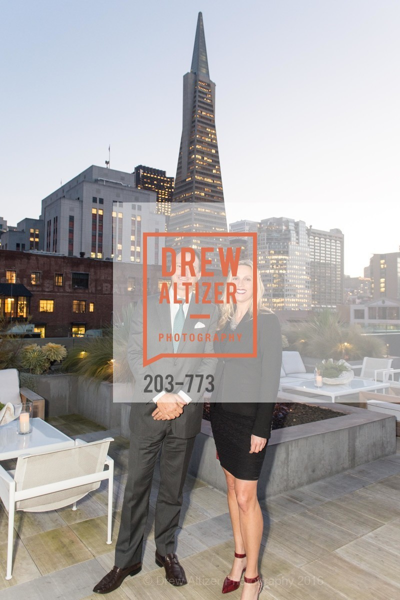 Joseph Lucier, Stacey Caen, Sotheby's International Realty's Celebrates the New Year, The Battery, Penthouse. 717 Battery St, January 27th, 2016,Drew Altizer, Drew Altizer Photography, full-service agency, private events, San Francisco photographer, photographer california