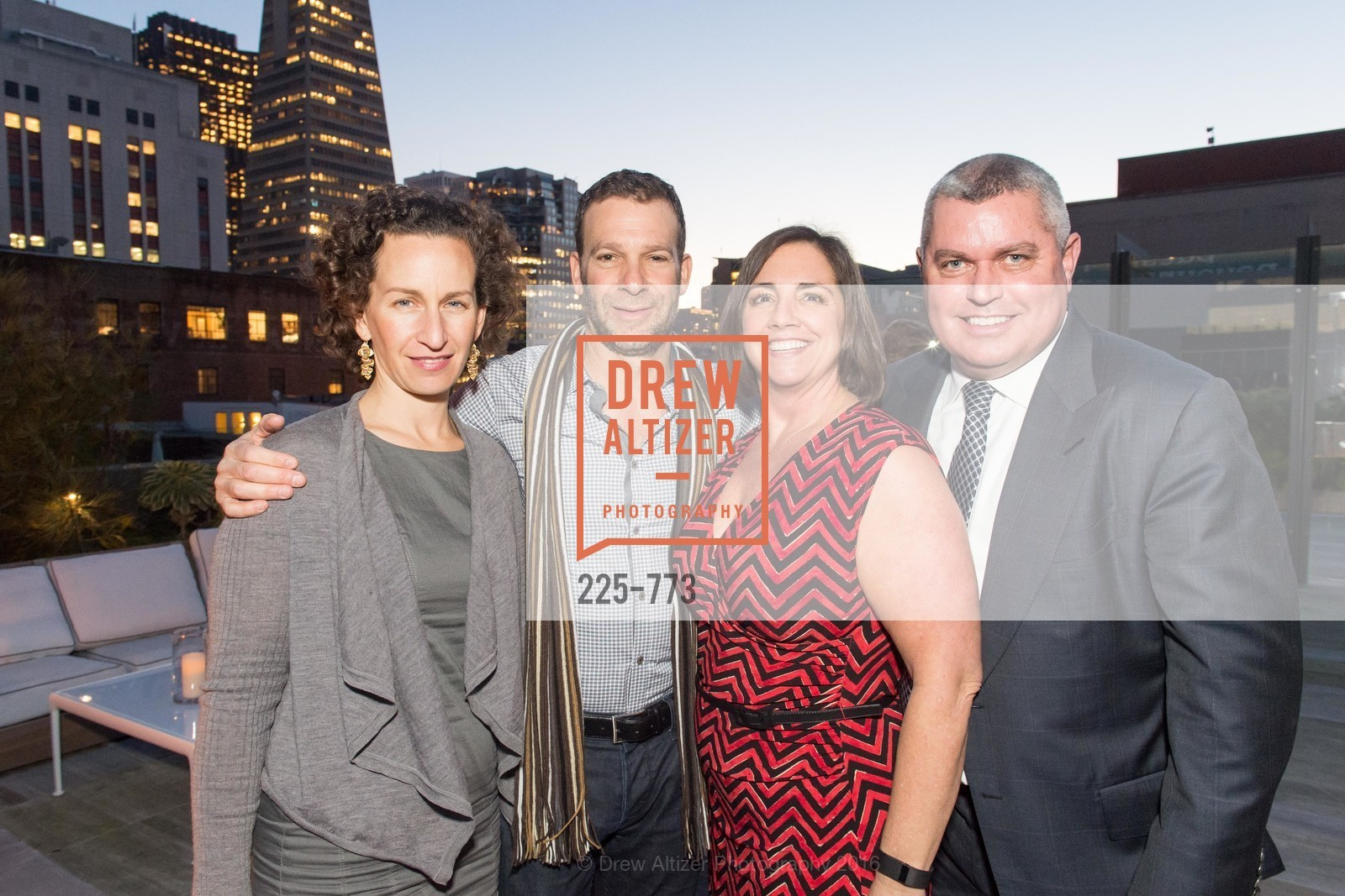 Daria Saraf, Robert Levy, Rachelle Martini, Anthony Riggins, Sotheby's International Realty's Celebrates the New Year, The Battery, Penthouse. 717 Battery St, January 27th, 2016,Drew Altizer, Drew Altizer Photography, full-service agency, private events, San Francisco photographer, photographer california