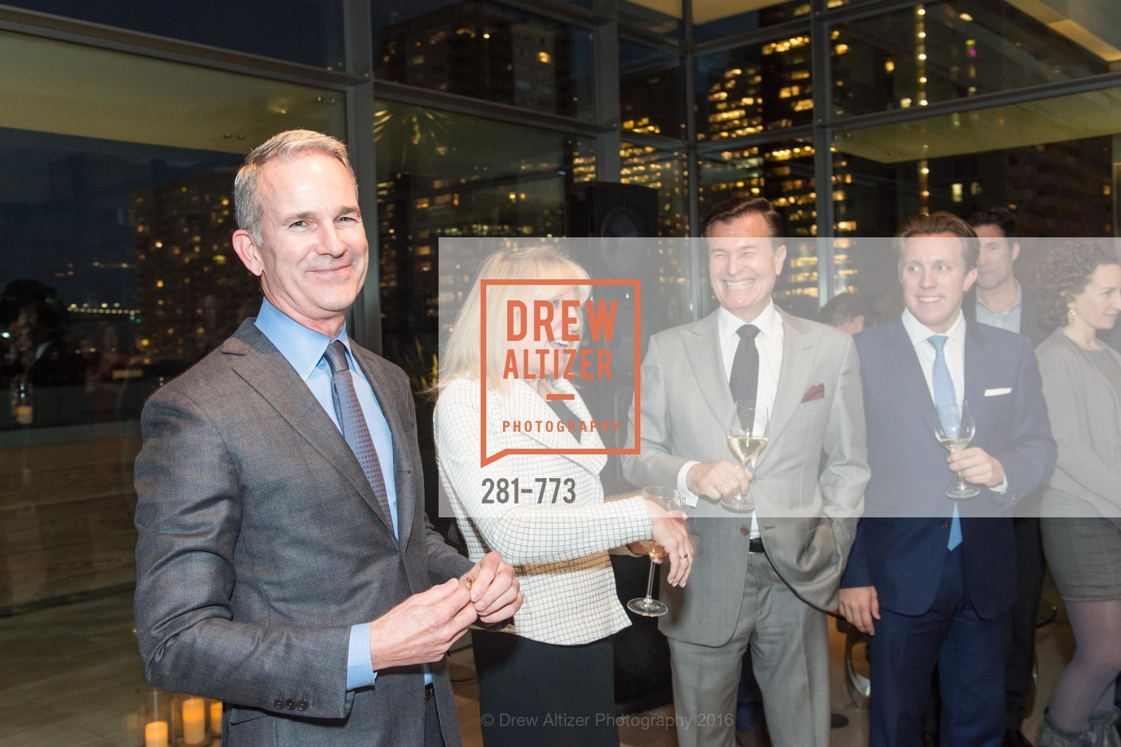 Jeffrey Gibson, Kathy Korte, Frank Symons, Brad Nelson, Sotheby's International Realty's Celebrates the New Year, The Battery, Penthouse. 717 Battery St, January 27th, 2016,Drew Altizer, Drew Altizer Photography, full-service event agency, private events, San Francisco photographer, photographer California