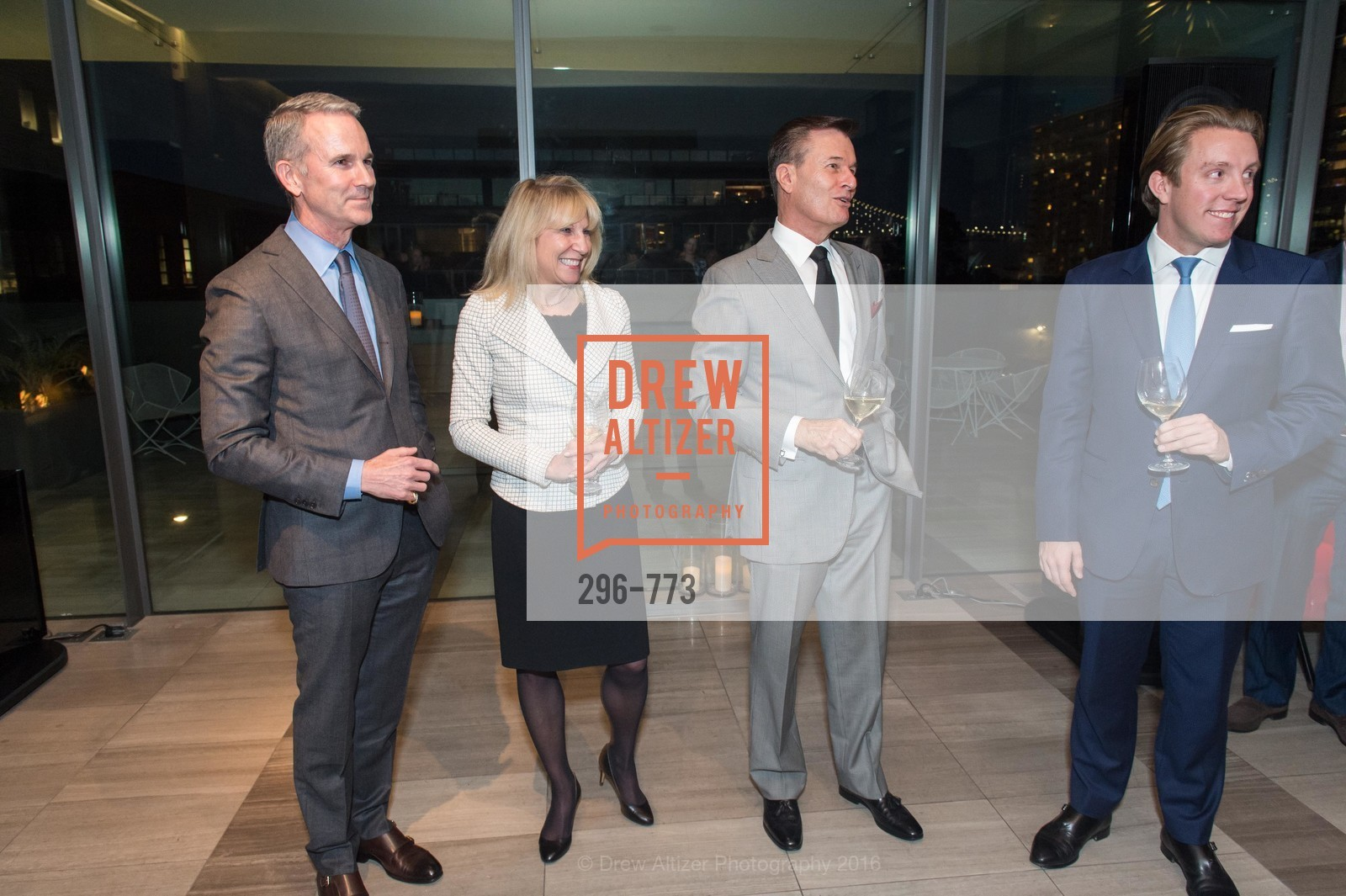 Jeffrey Gibson, Kathy Korte, Frank Symons, Brad Nelson, Sotheby's International Realty's Celebrates the New Year, The Battery, Penthouse. 717 Battery St, January 27th, 2016,Drew Altizer, Drew Altizer Photography, full-service agency, private events, San Francisco photographer, photographer california