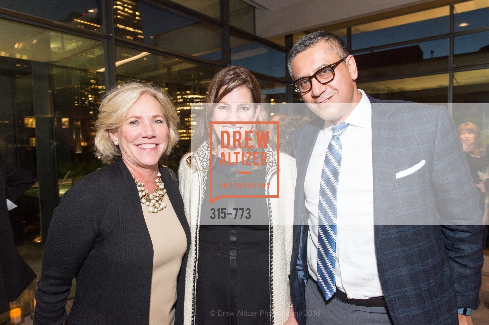 Karen Saghi, Barbara Sharif, Arthur Sharif, Sotheby's International Realty's Celebrates the New Year, The Battery, Penthouse. 717 Battery St, January 27th, 2016,Drew Altizer, Drew Altizer Photography, full-service agency, private events, San Francisco photographer, photographer california