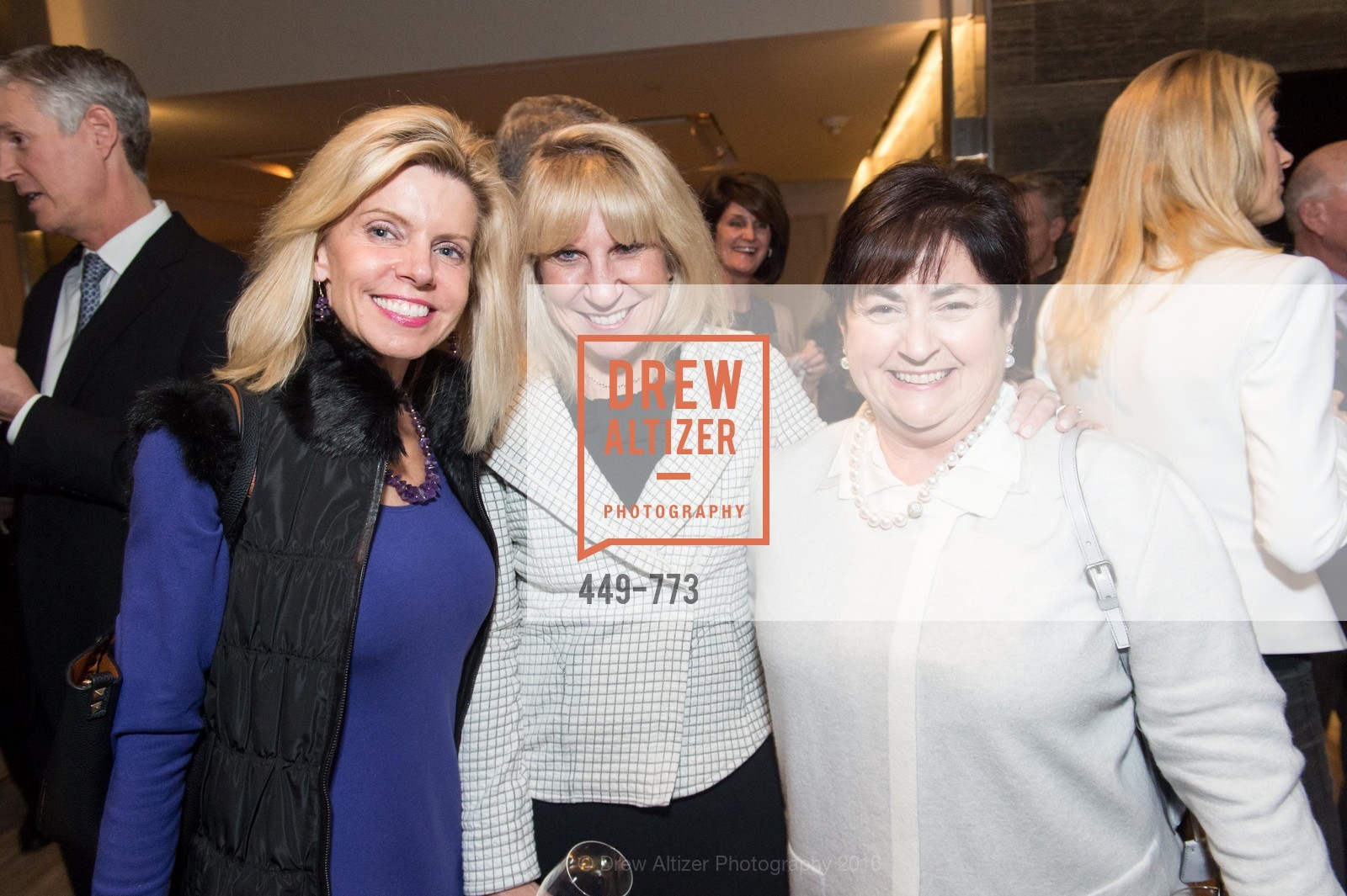 Mary Fenton, Kathy Korte, Janet Schindler, Sotheby's International Realty's Celebrates the New Year, The Battery, Penthouse. 717 Battery St, January 27th, 2016,Drew Altizer, Drew Altizer Photography, full-service agency, private events, San Francisco photographer, photographer california