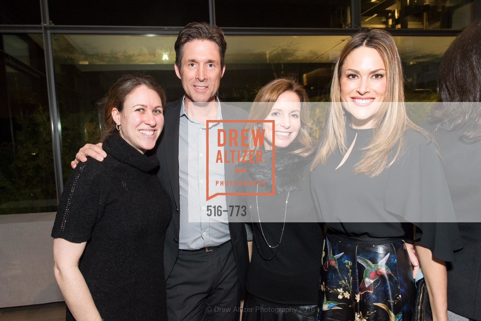 Lisa Faulkner, Paul Warrin, Carrie Goodman, Kara Warrin, Sotheby's International Realty's Celebrates the New Year, The Battery, Penthouse. 717 Battery St, January 27th, 2016,Drew Altizer, Drew Altizer Photography, full-service agency, private events, San Francisco photographer, photographer california