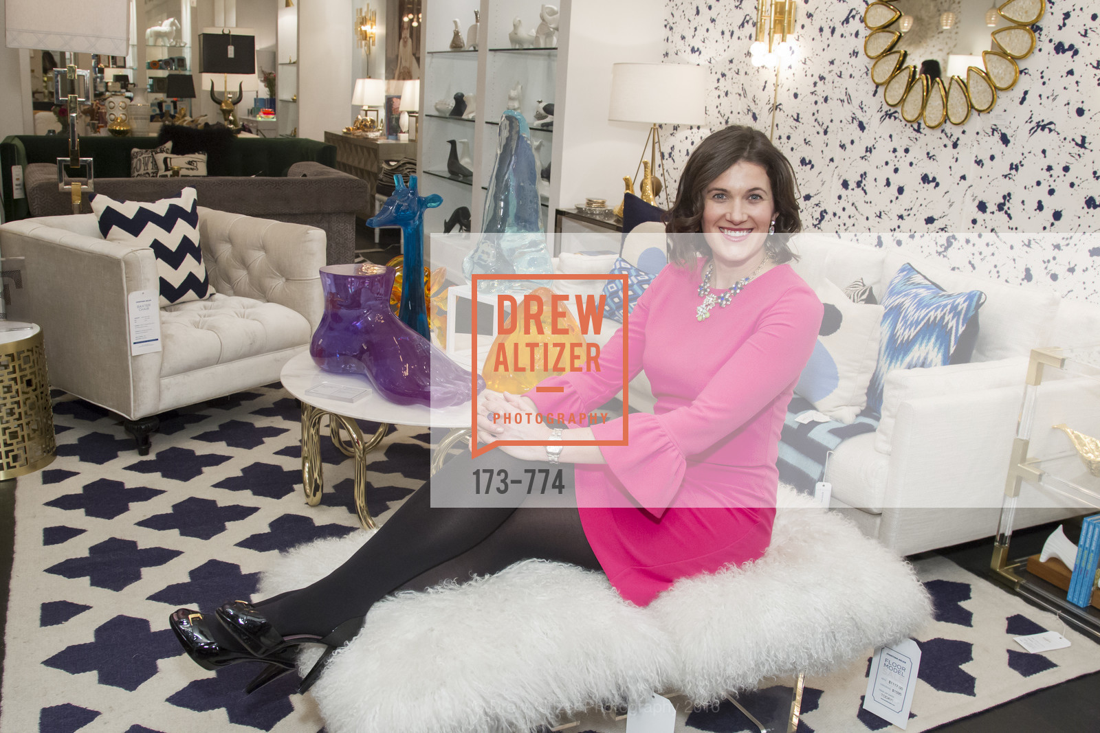 Emily Martin, Jonathan Adler Sip & Shop with Cultivar Wine & The JetSetting Fashionista, Jonathan Adler Store. 2133 Fillmore Street SF, CA, January 28th, 2016,Drew Altizer, Drew Altizer Photography, full-service agency, private events, San Francisco photographer, photographer california