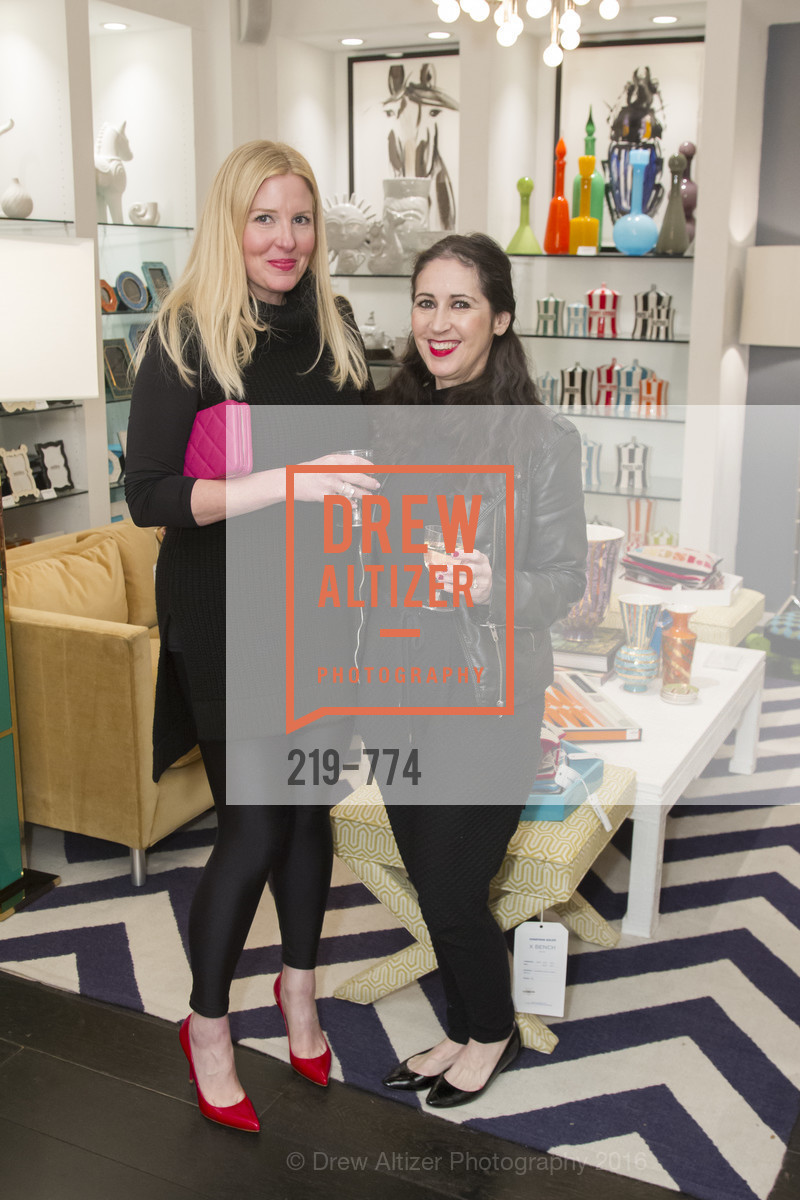 Kimberly Taylor, Bebe Carmenito, Jonathan Adler Sip & Shop with Cultivar Wine & The JetSetting Fashionista, Jonathan Adler Store. 2133 Fillmore Street SF, CA, January 28th, 2016,Drew Altizer, Drew Altizer Photography, full-service agency, private events, San Francisco photographer, photographer california
