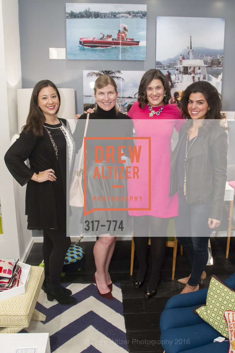 Melissa Farrar, Lucy Milligan Wall, Emily Martin, Jonathan Adler Sip & Shop with Cultivar Wine & The JetSetting Fashionista, Jonathan Adler Store. 2133 Fillmore Street SF, CA, January 28th, 2016,Drew Altizer, Drew Altizer Photography, full-service agency, private events, San Francisco photographer, photographer california