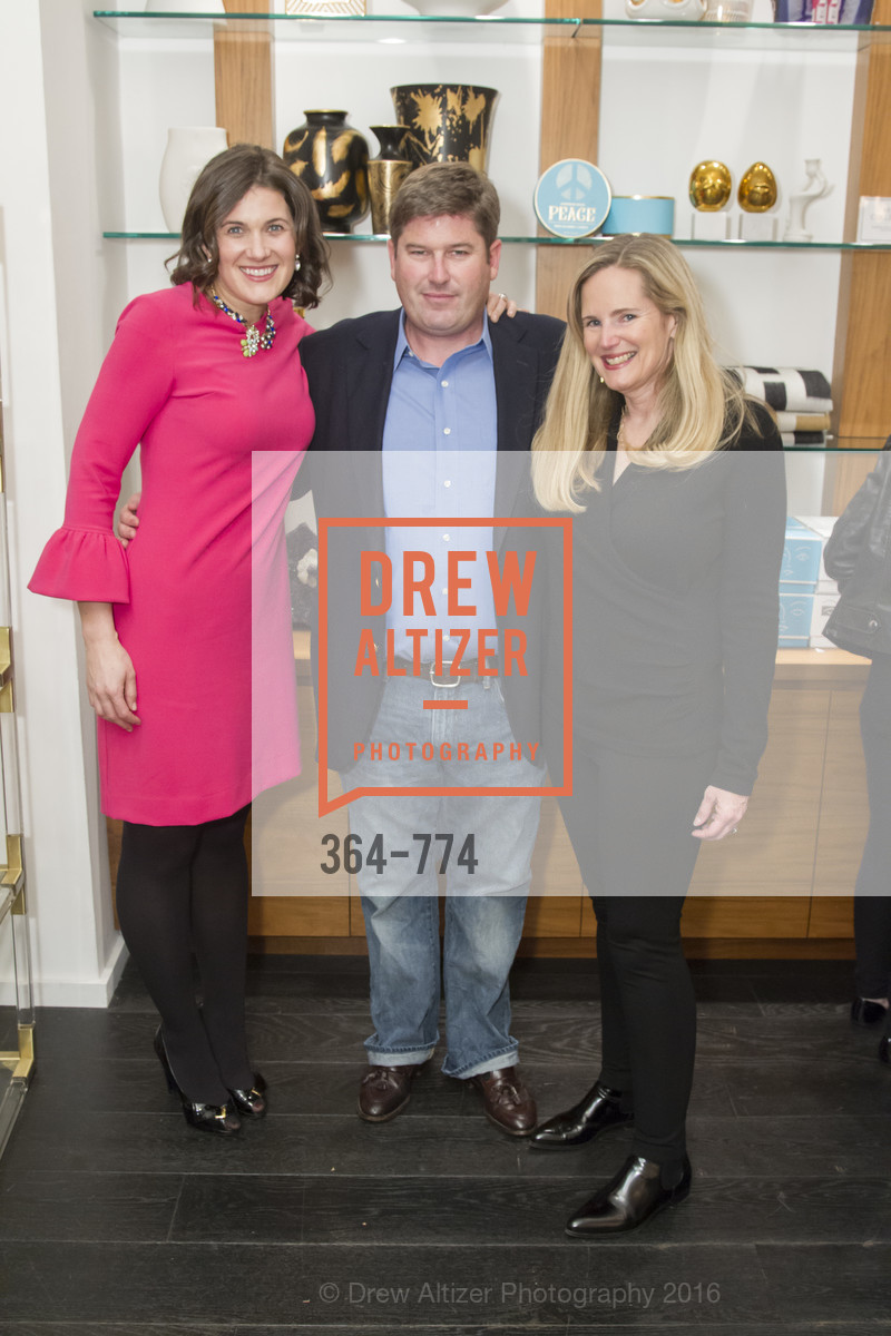 Emily Martin, Jody Harris, Gingy Harris Gable, Jonathan Adler Sip & Shop with Cultivar Wine & The JetSetting Fashionista, Jonathan Adler Store. 2133 Fillmore Street SF, CA, January 28th, 2016,Drew Altizer, Drew Altizer Photography, full-service agency, private events, San Francisco photographer, photographer california
