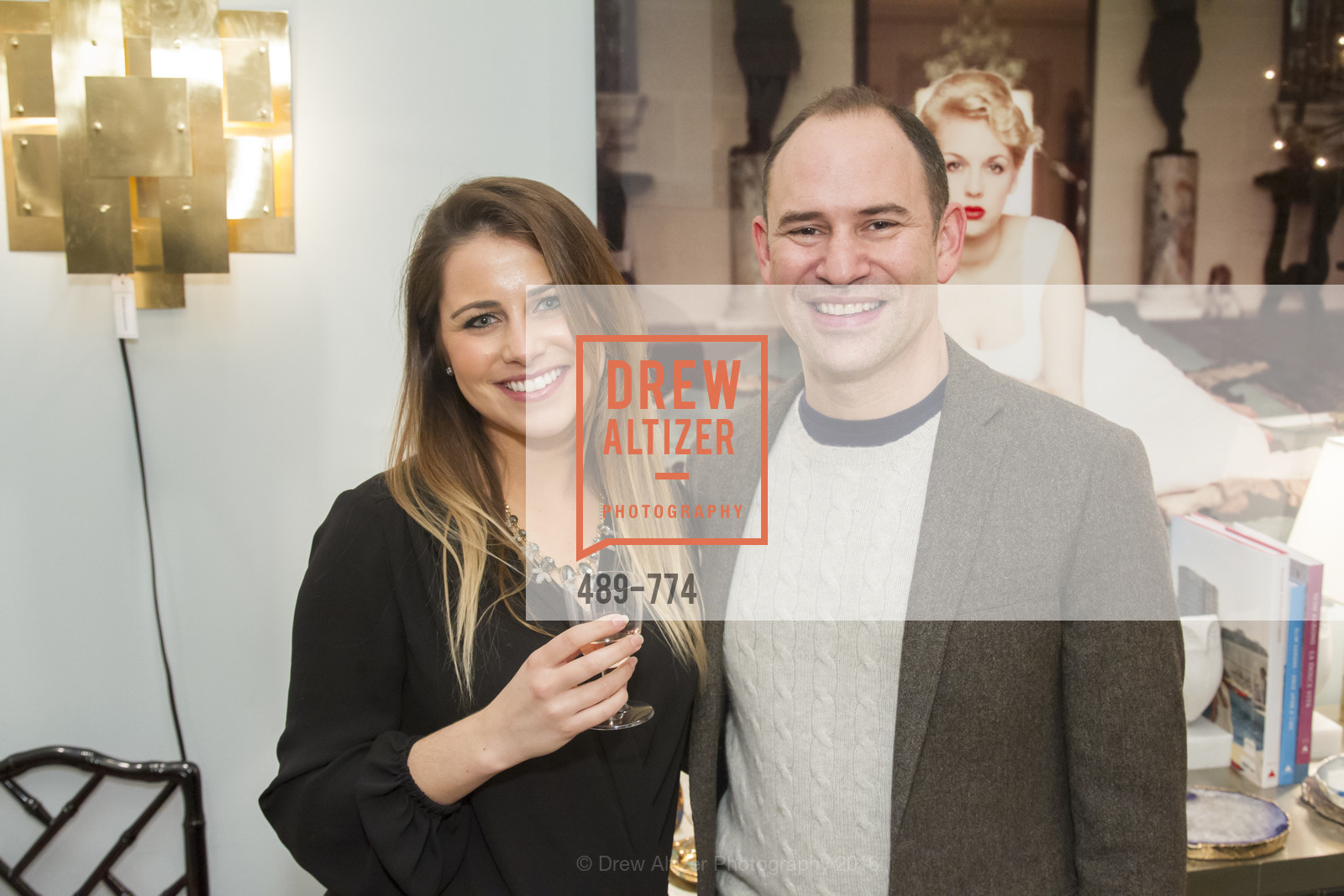 Vanessa Maykel, Doug Mandell, Jonathan Adler Sip & Shop with Cultivar Wine & The JetSetting Fashionista, Jonathan Adler Store. 2133 Fillmore Street SF, CA, January 28th, 2016,Drew Altizer, Drew Altizer Photography, full-service agency, private events, San Francisco photographer, photographer california