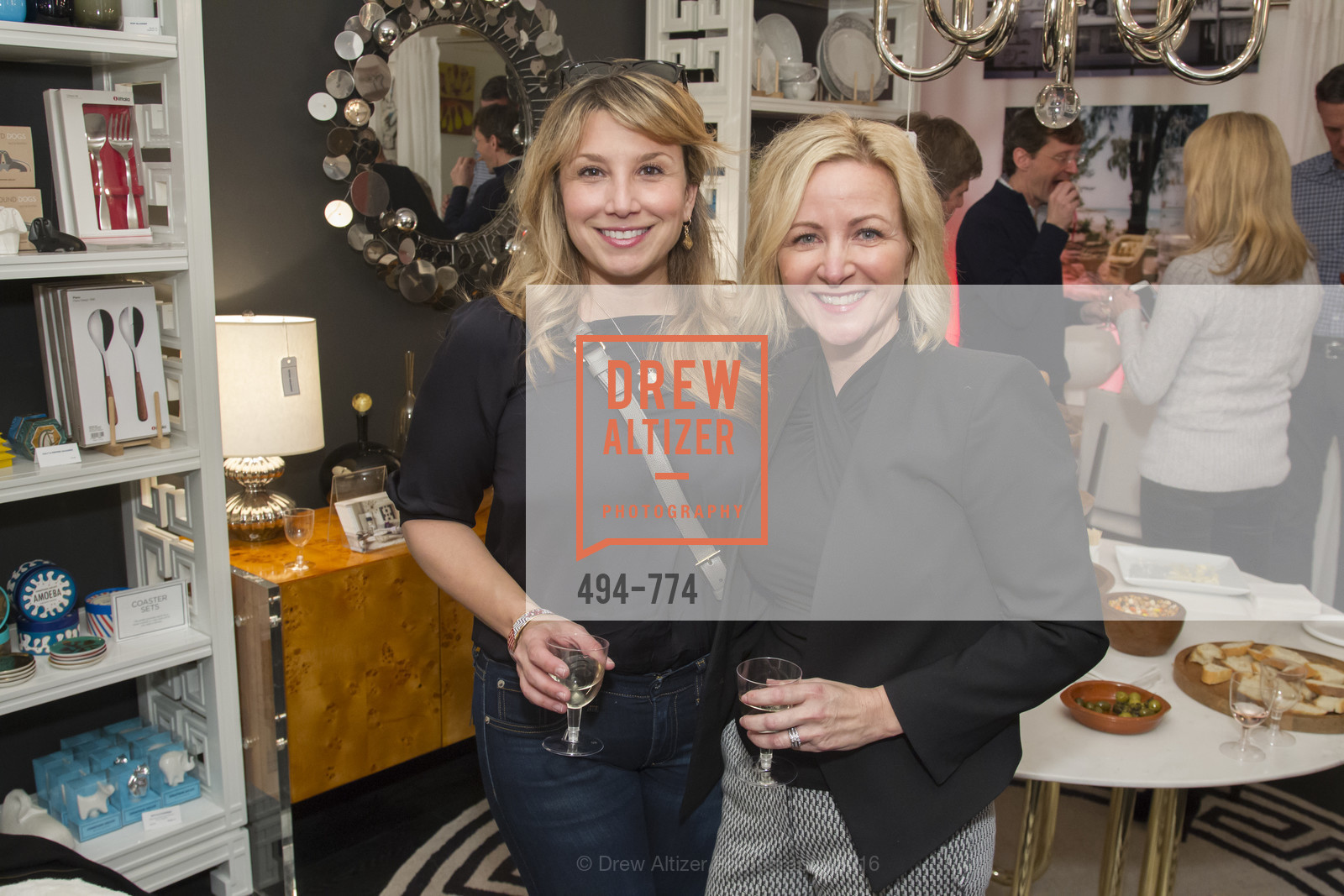 Amanda Valentina, Christina Carroll, Jonathan Adler Sip & Shop with Cultivar Wine & The JetSetting Fashionista, Jonathan Adler Store. 2133 Fillmore Street SF, CA, January 28th, 2016,Drew Altizer, Drew Altizer Photography, full-service agency, private events, San Francisco photographer, photographer california
