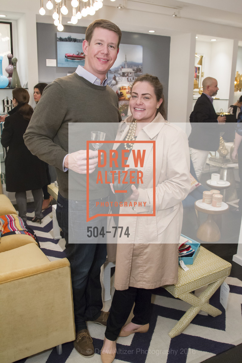 David Siegel, Kate Siegel, Jonathan Adler Sip & Shop with Cultivar Wine & The JetSetting Fashionista, Jonathan Adler Store. 2133 Fillmore Street SF, CA, January 28th, 2016,Drew Altizer, Drew Altizer Photography, full-service agency, private events, San Francisco photographer, photographer california