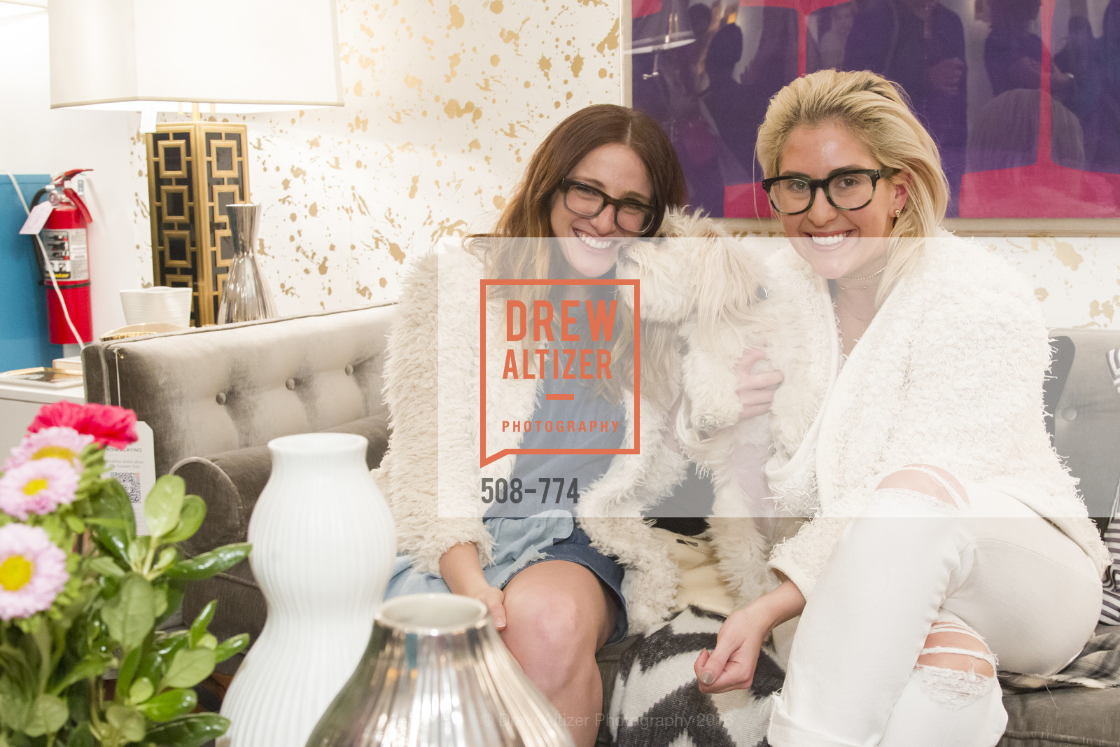 Amy Rancer, Kathleen Ensign, Jonathan Adler Sip & Shop with Cultivar Wine & The JetSetting Fashionista, Jonathan Adler Store. 2133 Fillmore Street SF, CA, January 28th, 2016,Drew Altizer, Drew Altizer Photography, full-service agency, private events, San Francisco photographer, photographer california