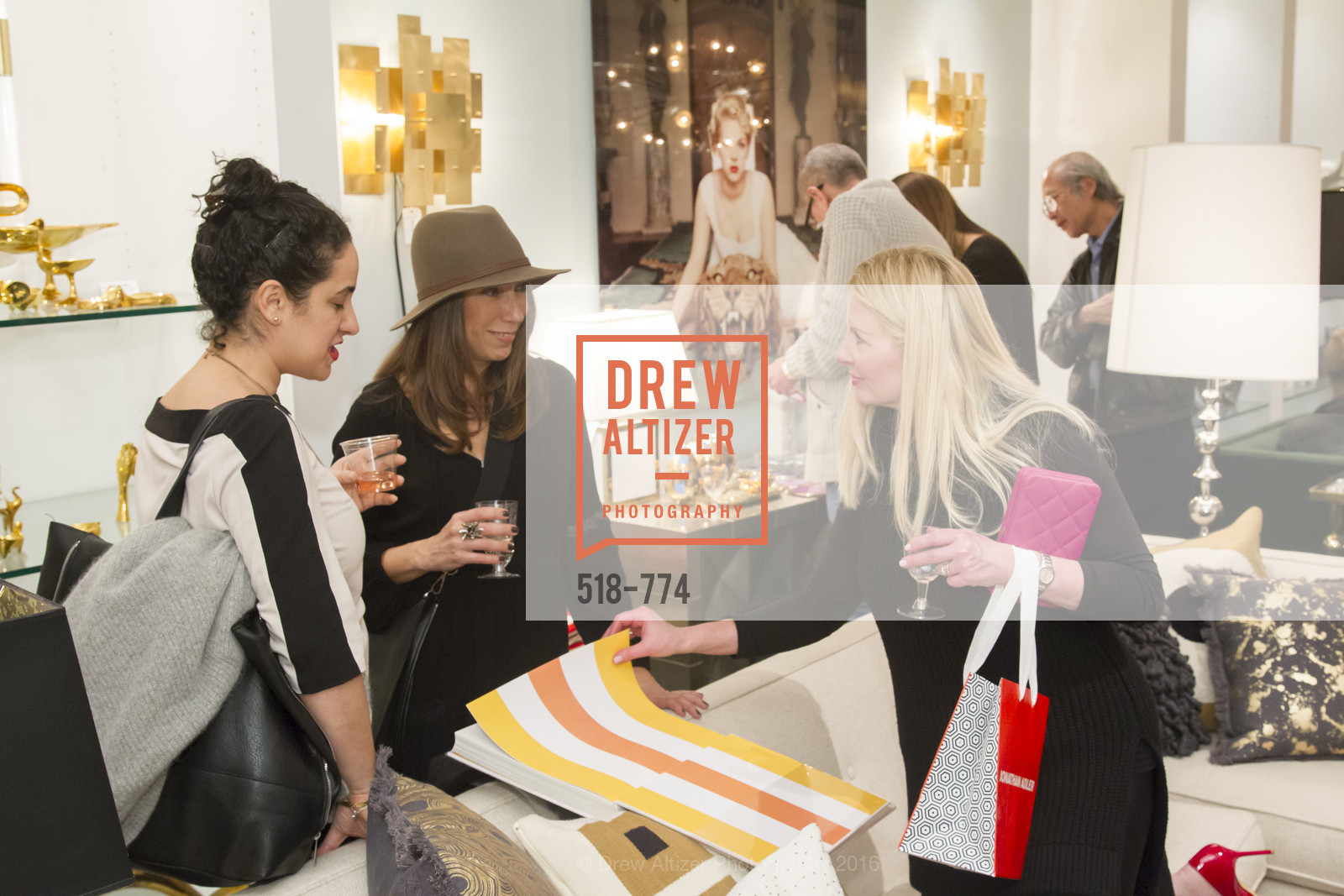Atmosphere, Jonathan Adler Sip & Shop with Cultivar Wine & The JetSetting Fashionista, Jonathan Adler Store. 2133 Fillmore Street SF, CA, January 28th, 2016,Drew Altizer, Drew Altizer Photography, full-service agency, private events, San Francisco photographer, photographer california