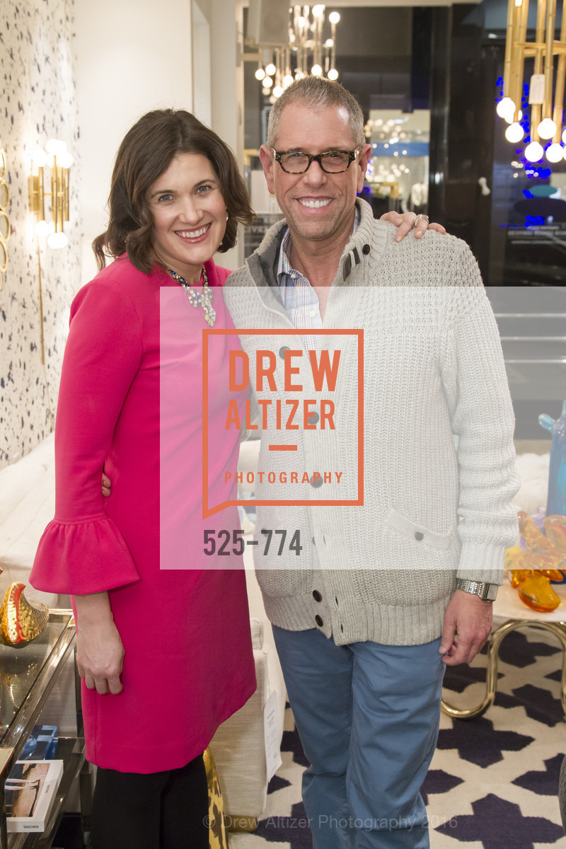 Emily Martin, Andrew Freeman, Jonathan Adler Sip & Shop with Cultivar Wine & The JetSetting Fashionista, Jonathan Adler Store. 2133 Fillmore Street SF, CA, January 28th, 2016,Drew Altizer, Drew Altizer Photography, full-service agency, private events, San Francisco photographer, photographer california
