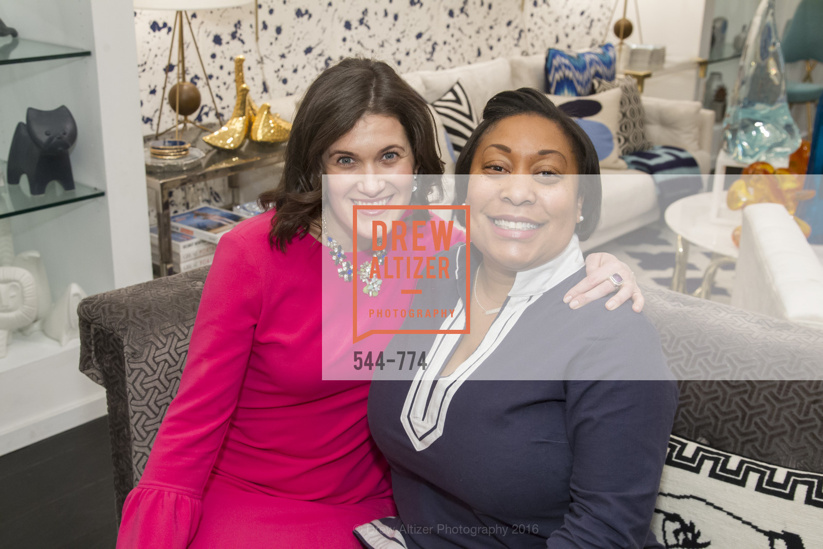 Emily Martin, Gwyneth Borden, Jonathan Adler Sip & Shop with Cultivar Wine & The JetSetting Fashionista, Jonathan Adler Store. 2133 Fillmore Street SF, CA, January 28th, 2016,Drew Altizer, Drew Altizer Photography, full-service agency, private events, San Francisco photographer, photographer california