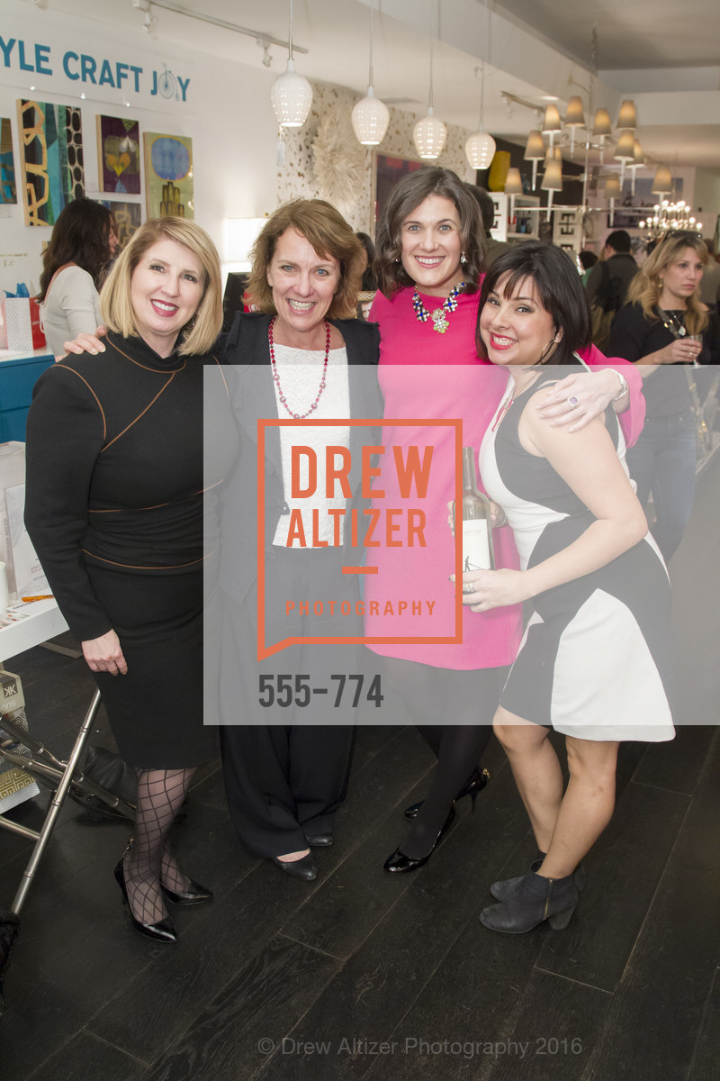 Roberta Economidis, Lee Gregory, Emily Martin, Tyler Fuentes, Jonathan Adler Sip & Shop with Cultivar Wine & The JetSetting Fashionista, Jonathan Adler Store. 2133 Fillmore Street SF, CA, January 28th, 2016,Drew Altizer, Drew Altizer Photography, full-service agency, private events, San Francisco photographer, photographer california