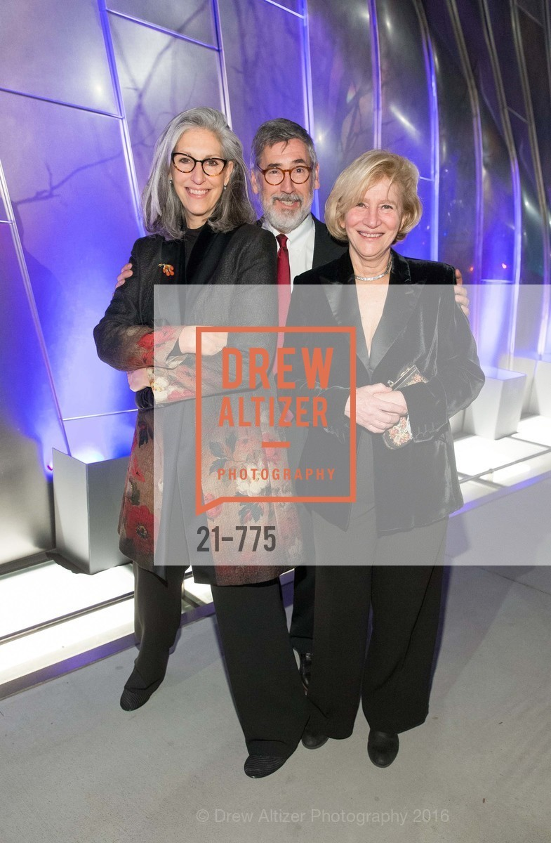 Deborah Landis, John Landis, Hilary Goldstein, UC Berkeley Art Museum & Pacific Film Archive Gala, BAMPFA. 2120 Oxford Street, January 28th, 2016,Drew Altizer, Drew Altizer Photography, full-service agency, private events, San Francisco photographer, photographer california