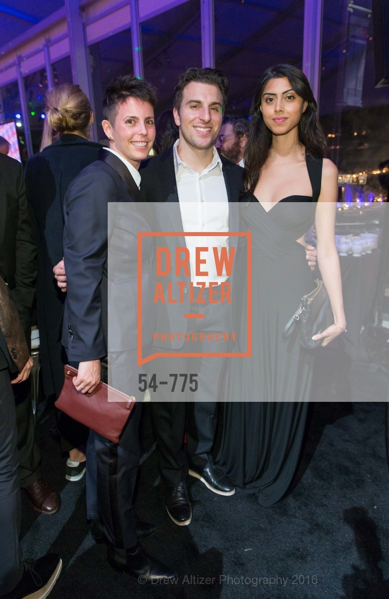 Jessica Silverman, Brian Chesky, Elissa Patel, UC Berkeley Art Museum & Pacific Film Archive Gala, BAMPFA. 2120 Oxford Street, January 28th, 2016,Drew Altizer, Drew Altizer Photography, full-service agency, private events, San Francisco photographer, photographer california