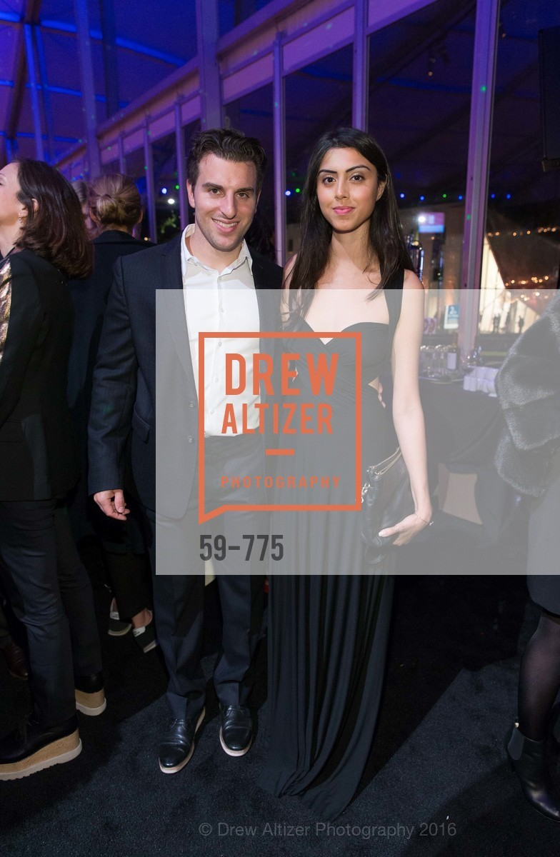 Brian Chesky, Elissa Patel, UC Berkeley Art Museum & Pacific Film Archive Gala, BAMPFA. 2120 Oxford Street, January 28th, 2016,Drew Altizer, Drew Altizer Photography, full-service agency, private events, San Francisco photographer, photographer california