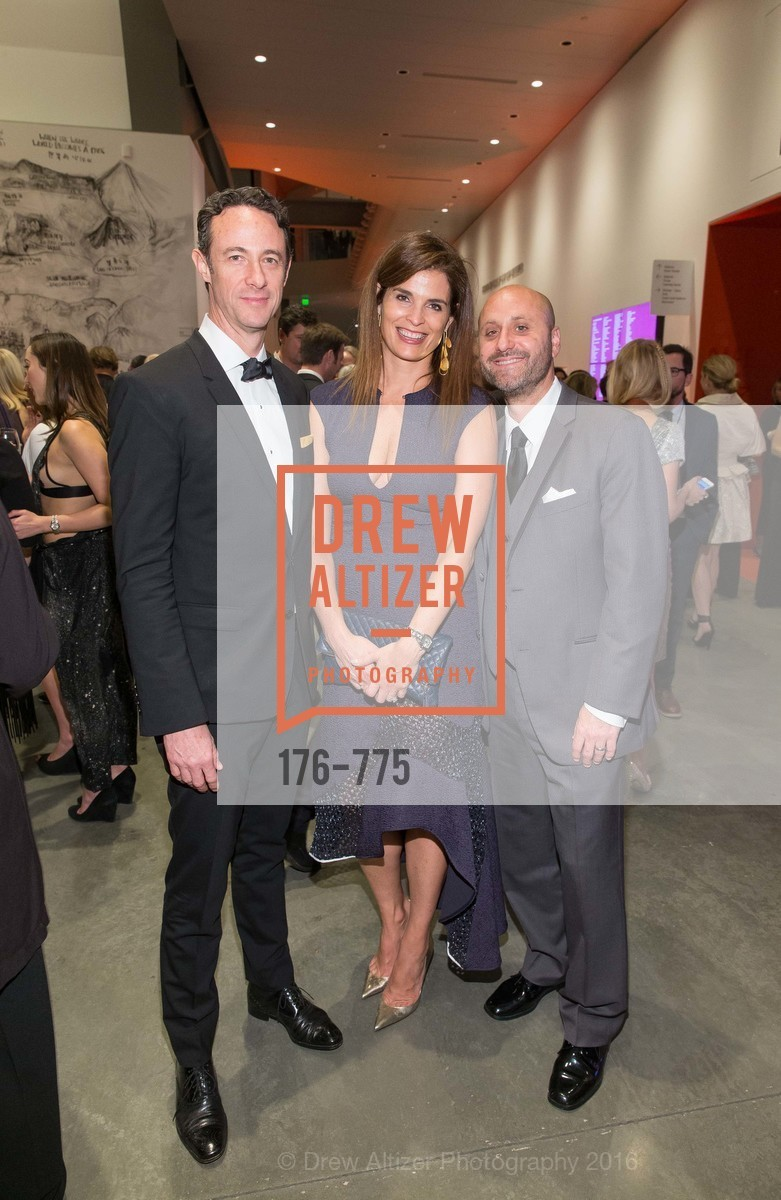 Darius Hymes, Wendi Norris, Alex Tourk, UC Berkeley Art Museum & Pacific Film Archive Gala, BAMPFA. 2120 Oxford Street, January 28th, 2016,Drew Altizer, Drew Altizer Photography, full-service agency, private events, San Francisco photographer, photographer california