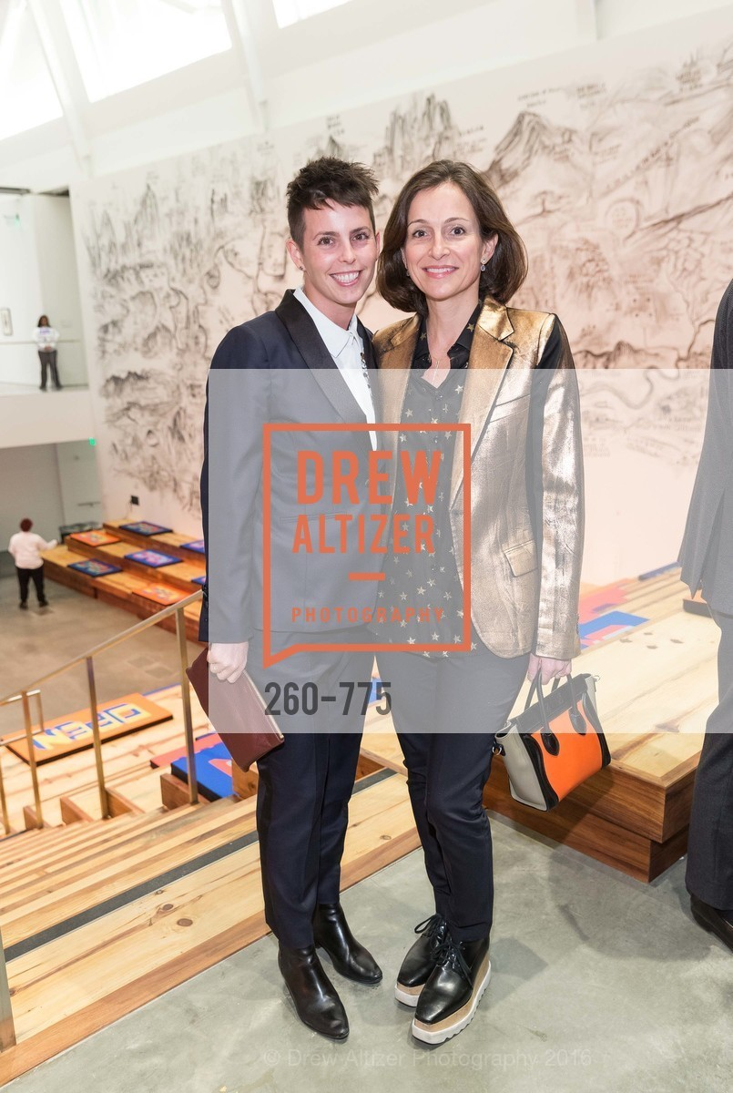 Jessica Silverman, Sarah Thornton, UC Berkeley Art Museum & Pacific Film Archive Gala, BAMPFA. 2120 Oxford Street, January 28th, 2016,Drew Altizer, Drew Altizer Photography, full-service agency, private events, San Francisco photographer, photographer california