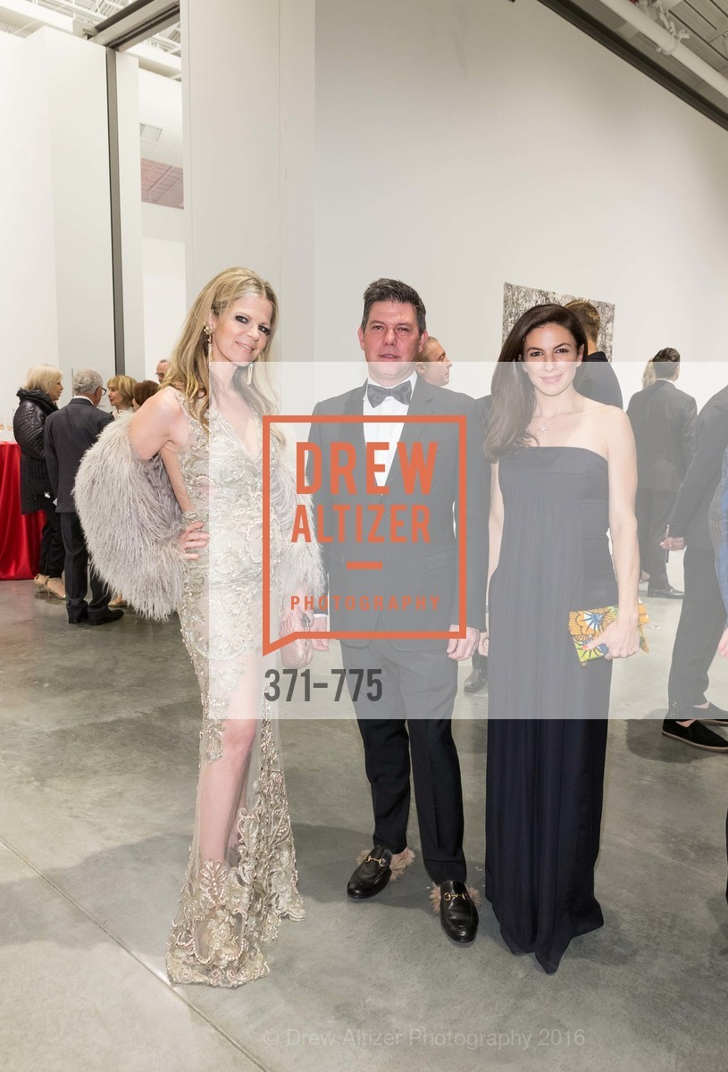 Yvonne Force Villareal, Leo Villareal, Sabrina Buell, UC Berkeley Art Museum & Pacific Film Archive Gala, BAMPFA. 2120 Oxford Street, January 28th, 2016,Drew Altizer, Drew Altizer Photography, full-service agency, private events, San Francisco photographer, photographer california