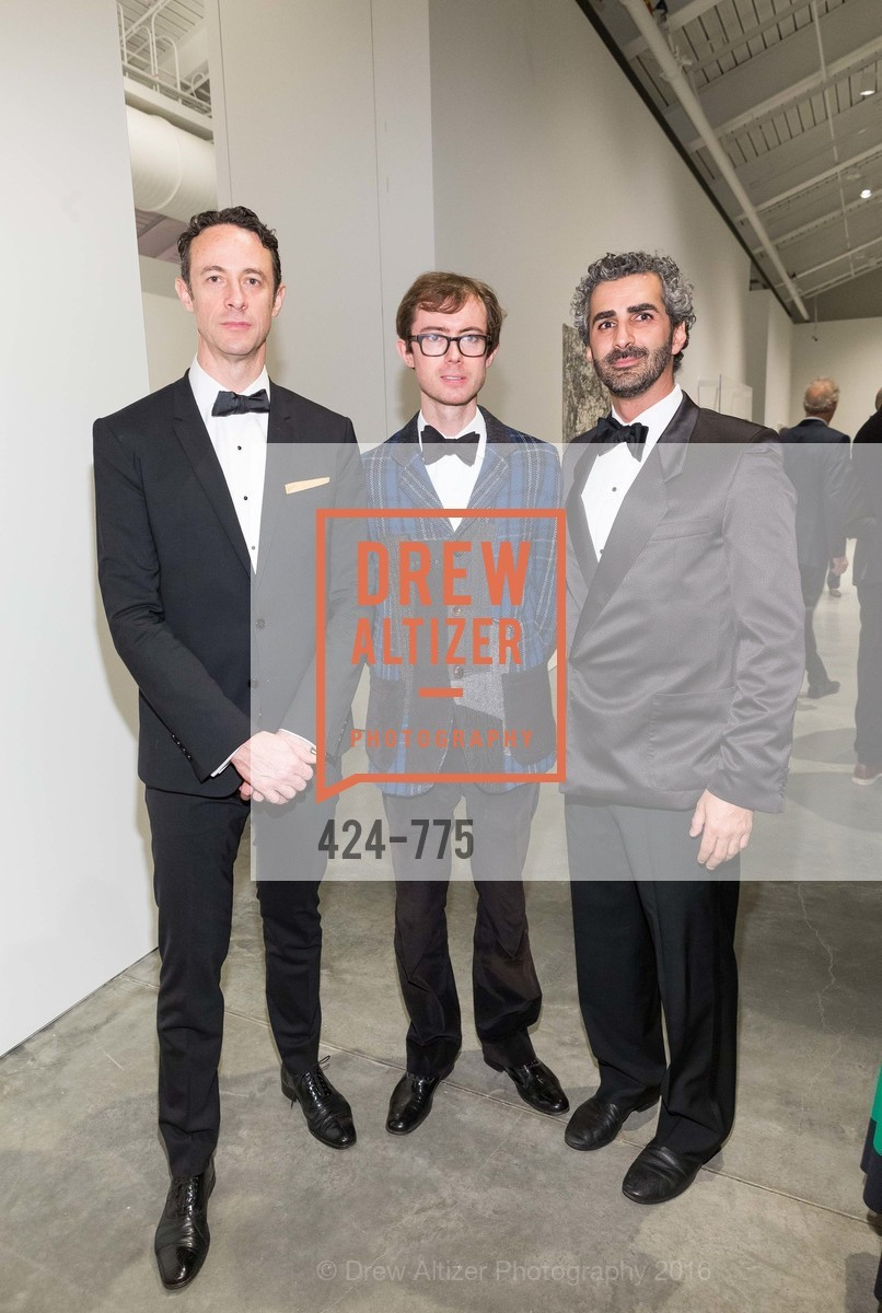 Darius Hymes, Edward King, Amir Mortazavi, UC Berkeley Art Museum & Pacific Film Archive Gala, BAMPFA. 2120 Oxford Street, January 28th, 2016,Drew Altizer, Drew Altizer Photography, full-service agency, private events, San Francisco photographer, photographer california