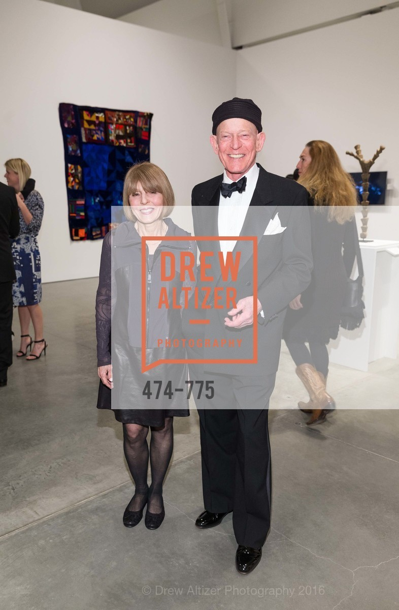 Connie Lewallen, Bill Berkson, UC Berkeley Art Museum & Pacific Film Archive Gala, BAMPFA. 2120 Oxford Street, January 28th, 2016,Drew Altizer, Drew Altizer Photography, full-service agency, private events, San Francisco photographer, photographer california