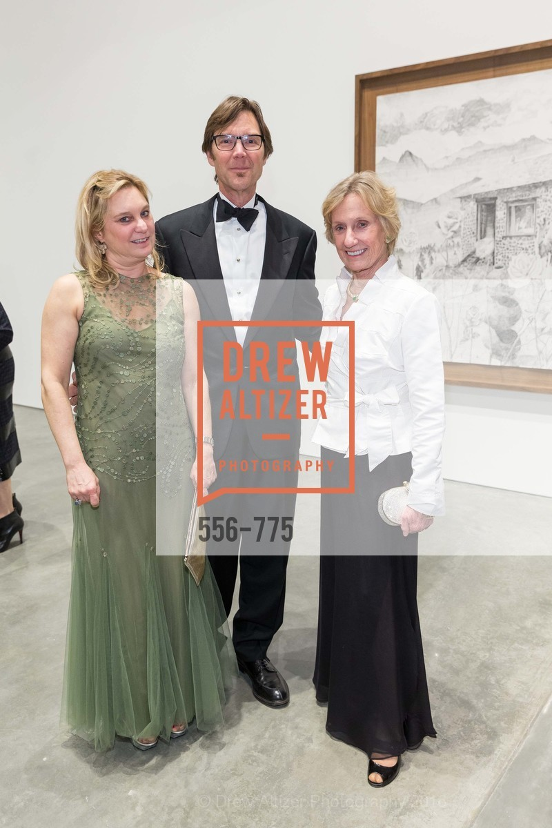 Jessica Galloway, Stephen Galloway, Nancy Bechtle, UC Berkeley Art Museum & Pacific Film Archive Gala, BAMPFA. 2120 Oxford Street, January 28th, 2016,Drew Altizer, Drew Altizer Photography, full-service agency, private events, San Francisco photographer, photographer california