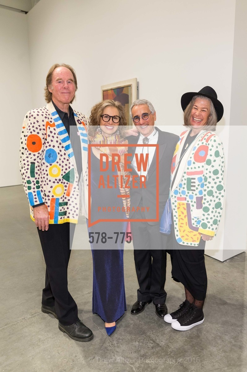 Peter Buckley, Patricia Ziegler, Mel Ziegler, Mimi Buckley, UC Berkeley Art Museum & Pacific Film Archive Gala, BAMPFA. 2120 Oxford Street, January 28th, 2016,Drew Altizer, Drew Altizer Photography, full-service agency, private events, San Francisco photographer, photographer california