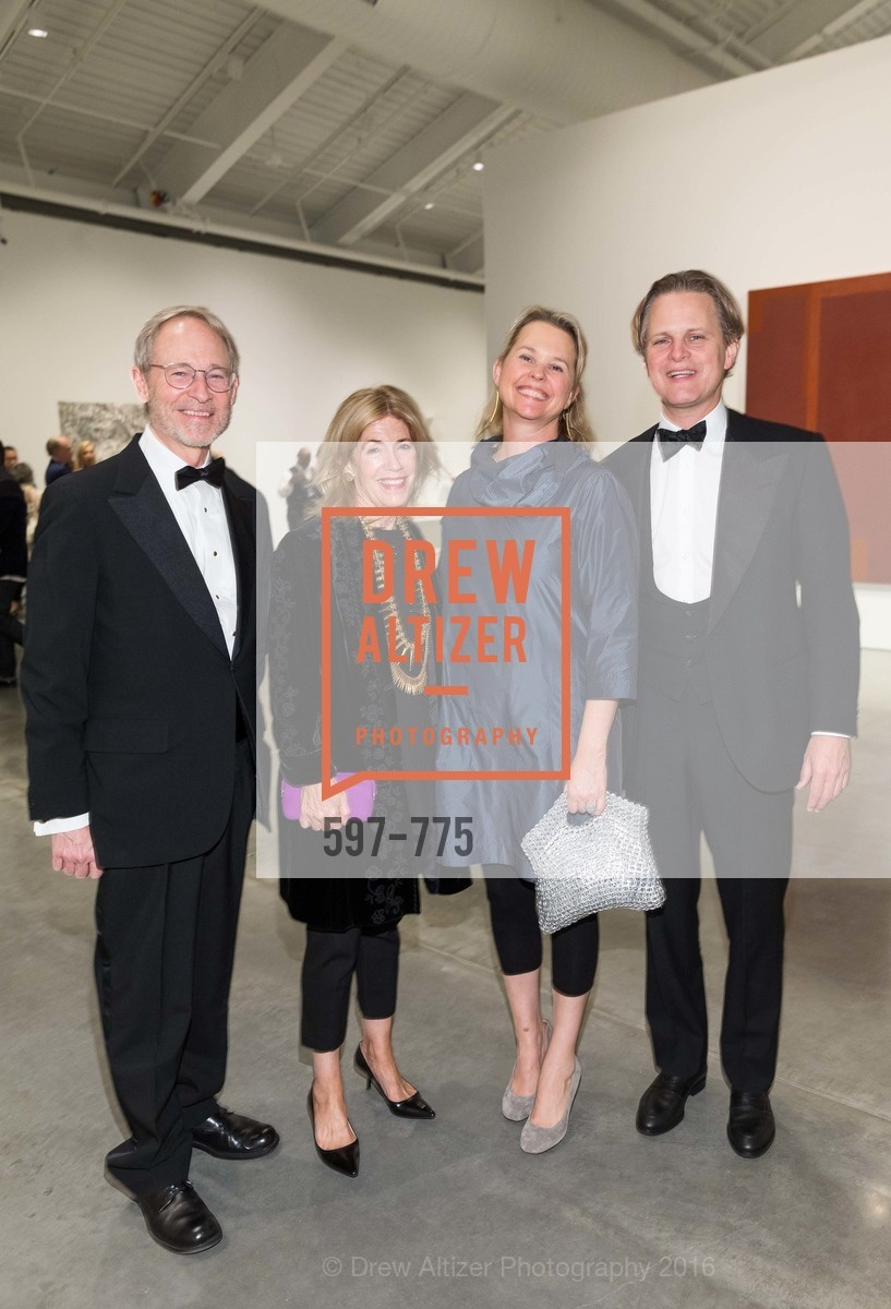 Hal Candee, Cathy Topham, Eliza Brown, Owsley Brown, UC Berkeley Art Museum & Pacific Film Archive Gala, BAMPFA. 2120 Oxford Street, January 28th, 2016,Drew Altizer, Drew Altizer Photography, full-service event agency, private events, San Francisco photographer, photographer California