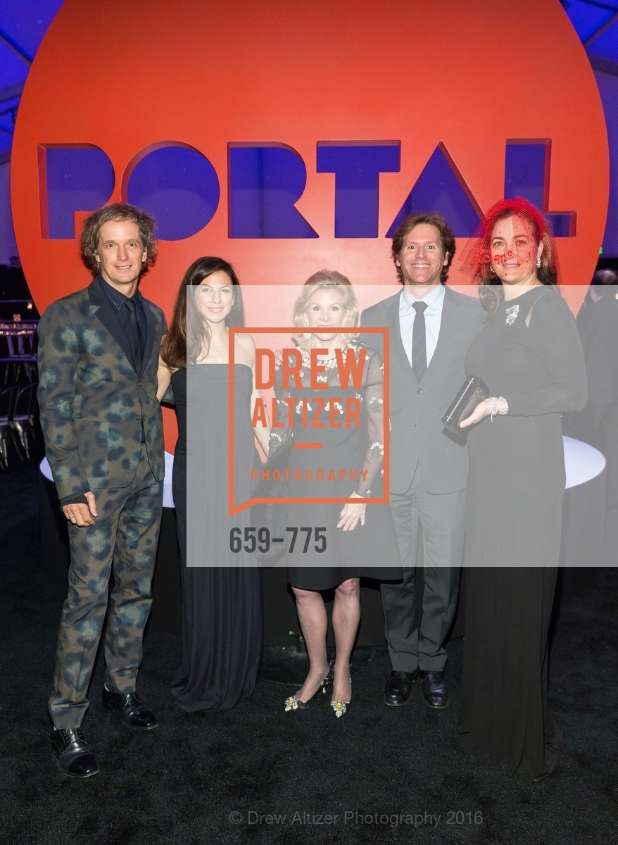 Yves Behar, Sabrina Buell, Dede Wilsey, Trevor Traina, Alexis Traina, UC Berkeley Art Museum & Pacific Film Archive Gala, BAMPFA. 2120 Oxford Street, January 28th, 2016,Drew Altizer, Drew Altizer Photography, full-service agency, private events, San Francisco photographer, photographer california