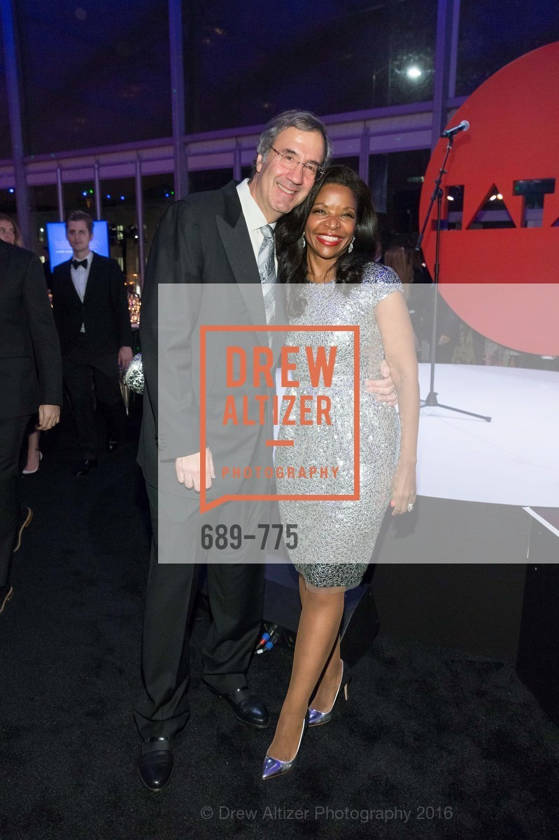 Fred Giuffrida, Pamela Joyner, UC Berkeley Art Museum & Pacific Film Archive Gala, BAMPFA. 2120 Oxford Street, January 28th, 2016,Drew Altizer, Drew Altizer Photography, full-service agency, private events, San Francisco photographer, photographer california
