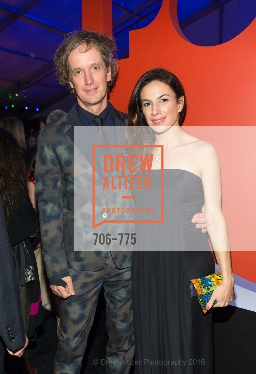 Yves Behar, Sabrina Buell, UC Berkeley Art Museum & Pacific Film Archive Gala, BAMPFA. 2120 Oxford Street, January 28th, 2016