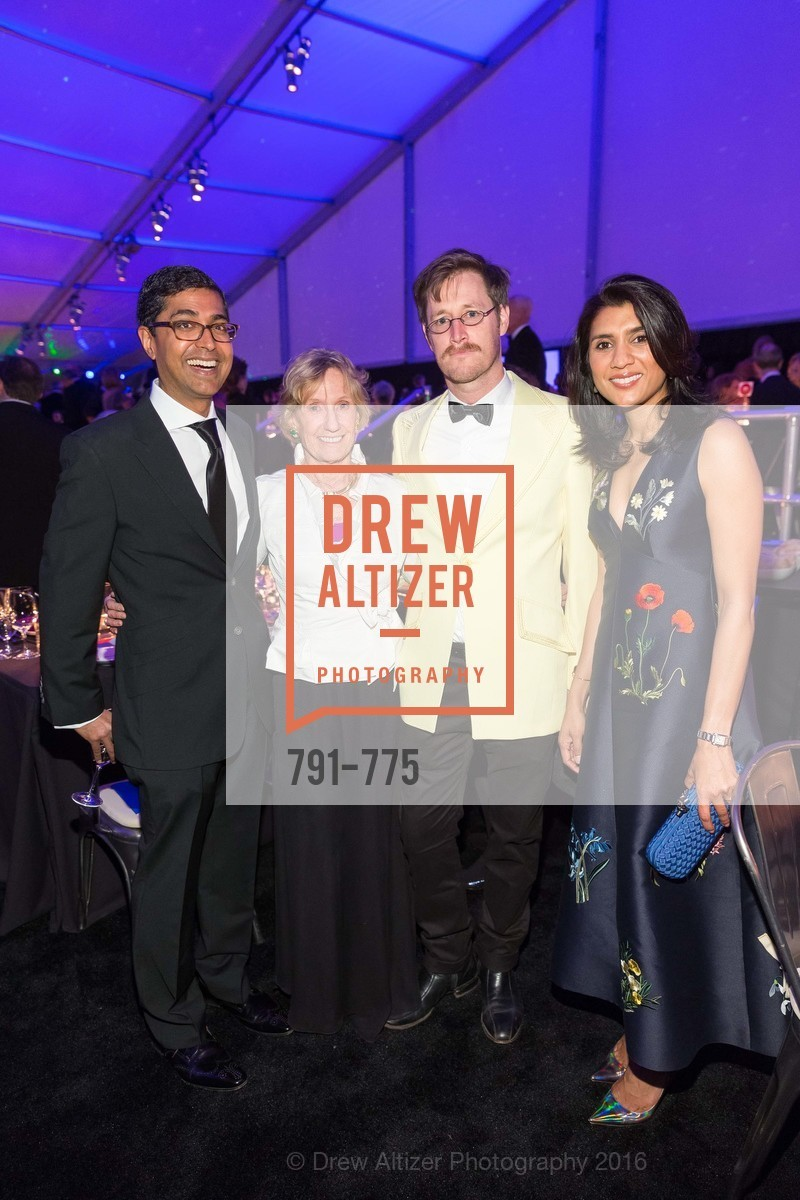 Ravin Agrawal, Nancy Bechtle, Colter Jacobsen, Alka Agrawal, UC Berkeley Art Museum & Pacific Film Archive Gala, BAMPFA. 2120 Oxford Street, January 28th, 2016,Drew Altizer, Drew Altizer Photography, full-service event agency, private events, San Francisco photographer, photographer California