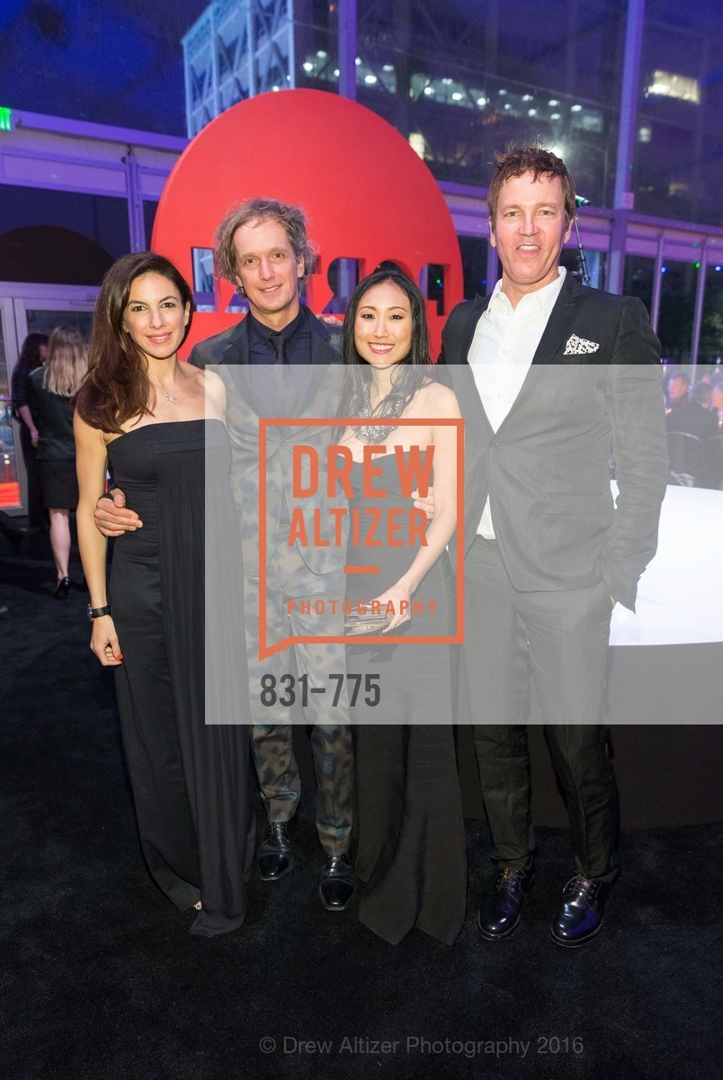 Sabrina Buell, Yves Behar, Mimi Connery, Stephan Jenkins, UC Berkeley Art Museum & Pacific Film Archive Gala, BAMPFA. 2120 Oxford Street, January 28th, 2016,Drew Altizer, Drew Altizer Photography, full-service agency, private events, San Francisco photographer, photographer california