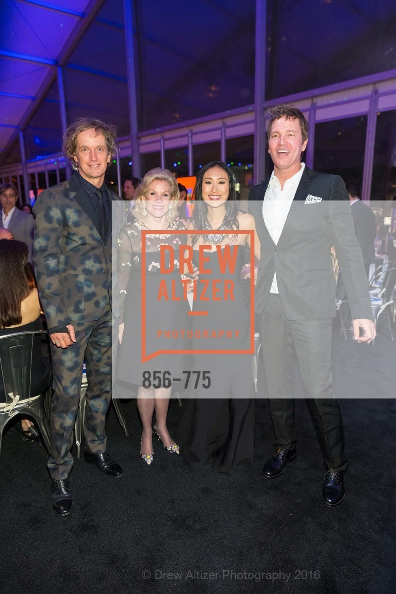 Yves Behar, Dede Wilsey, Mimi Connery, Stephan Jenkins, UC Berkeley Art Museum & Pacific Film Archive Gala, BAMPFA. 2120 Oxford Street, January 28th, 2016,Drew Altizer, Drew Altizer Photography, full-service agency, private events, San Francisco photographer, photographer california