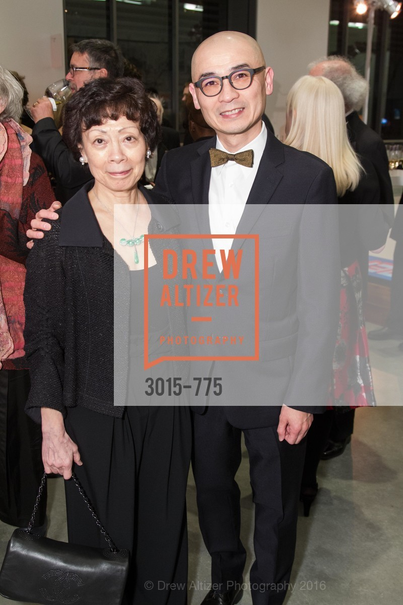 Wen-hsin Yeh, Coleman Fung, UC Berkeley Art Museum & Pacific Film Archive Gala, BAMPFA. 2120 Oxford Street, January 28th, 2016,Drew Altizer, Drew Altizer Photography, full-service agency, private events, San Francisco photographer, photographer california