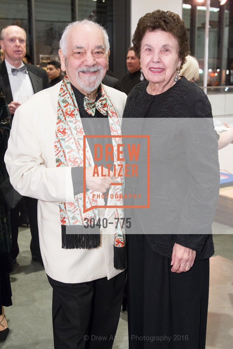 Narsai David, Venus David, UC Berkeley Art Museum & Pacific Film Archive Gala, BAMPFA. 2120 Oxford Street, January 28th, 2016,Drew Altizer, Drew Altizer Photography, full-service agency, private events, San Francisco photographer, photographer california
