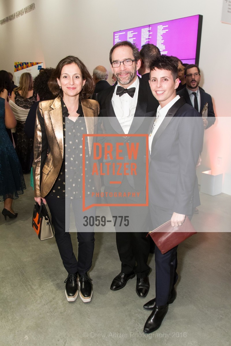 Sarah Thornton, Larry Ringer, Jessica Silverman, UC Berkeley Art Museum & Pacific Film Archive Gala, BAMPFA. 2120 Oxford Street, January 28th, 2016,Drew Altizer, Drew Altizer Photography, full-service agency, private events, San Francisco photographer, photographer california