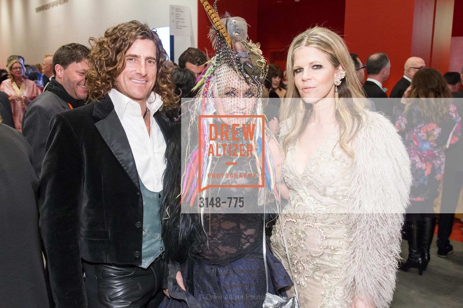 Brian Herman, Deb Windham, Yvonne Force Villareal, UC Berkeley Art Museum & Pacific Film Archive Gala, BAMPFA. 2120 Oxford Street, January 28th, 2016,Drew Altizer, Drew Altizer Photography, full-service event agency, private events, San Francisco photographer, photographer California