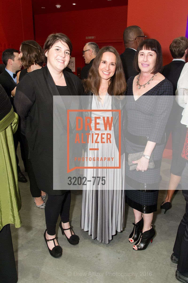 Allison Gass, Vanessa Doherty, Carla Emil, UC Berkeley Art Museum & Pacific Film Archive Gala, BAMPFA. 2120 Oxford Street, January 28th, 2016,Drew Altizer, Drew Altizer Photography, full-service agency, private events, San Francisco photographer, photographer california