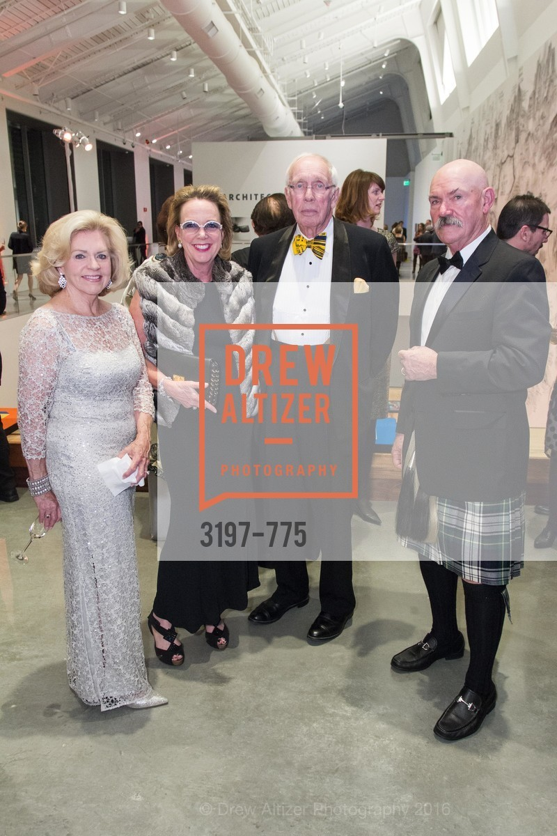 Joanne Matthews, Elizabeth Adams, Edel Rosekrans, James Adams, UC Berkeley Art Museum & Pacific Film Archive Gala, BAMPFA. 2120 Oxford Street, January 28th, 2016,Drew Altizer, Drew Altizer Photography, full-service agency, private events, San Francisco photographer, photographer california