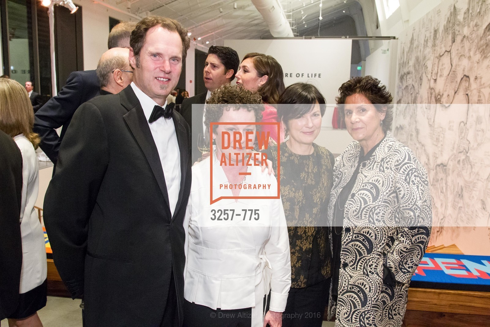 Eric Blasen, Silvina Blasen, Loretta Gargen, Katherine Wagner, UC Berkeley Art Museum & Pacific Film Archive Gala, BAMPFA. 2120 Oxford Street, January 28th, 2016,Drew Altizer, Drew Altizer Photography, full-service agency, private events, San Francisco photographer, photographer california