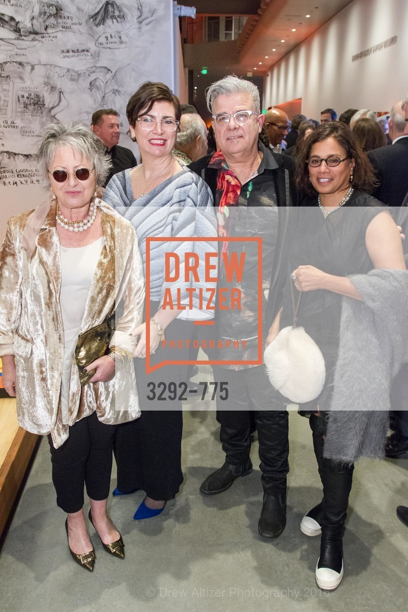 Jennifer Morla, Amy Critchett, Mark Pauline, Mary Conrad, UC Berkeley Art Museum & Pacific Film Archive Gala, BAMPFA. 2120 Oxford Street, January 28th, 2016,Drew Altizer, Drew Altizer Photography, full-service agency, private events, San Francisco photographer, photographer california