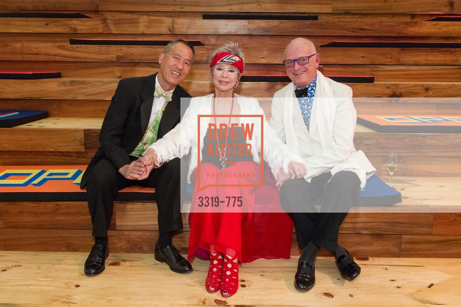 Darrell Louie, Rita Moreno, Paul Templeton, UC Berkeley Art Museum & Pacific Film Archive Gala, BAMPFA. 2120 Oxford Street, January 28th, 2016