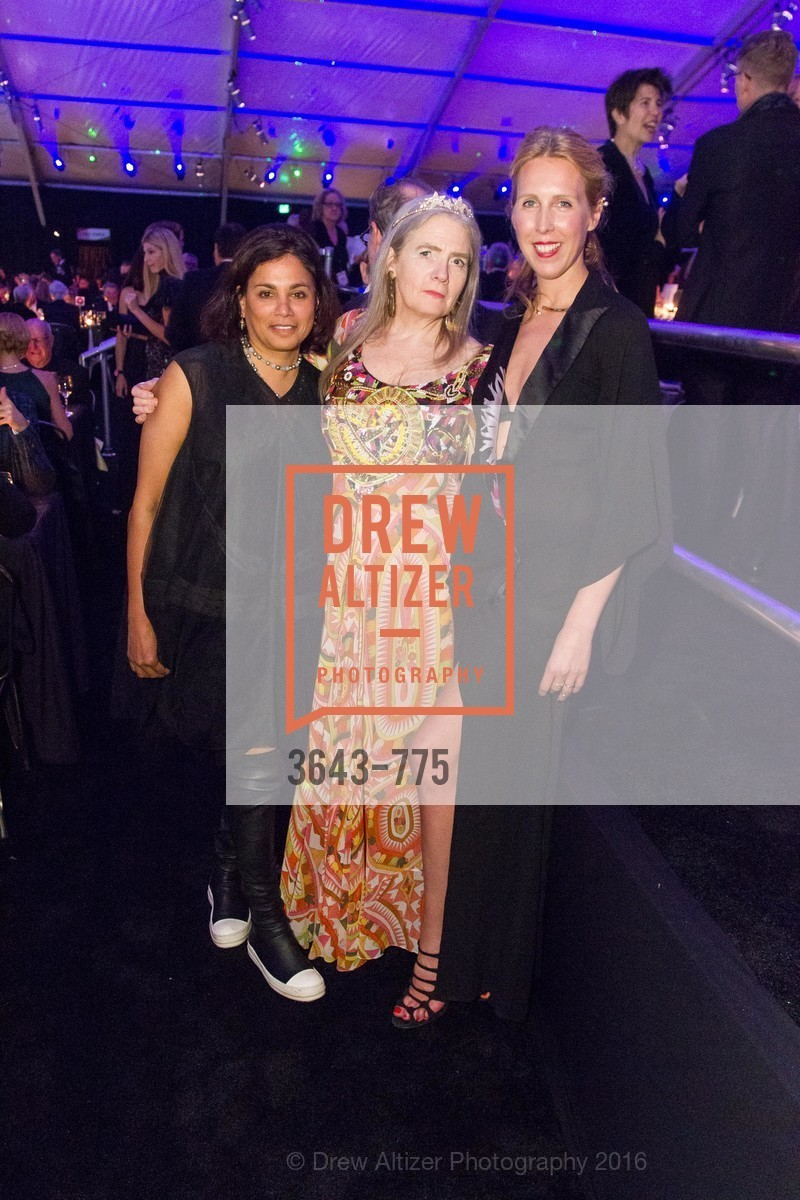 Mary Conrad, Madeleine Fitzpatrick, Lauren Goodman, UC Berkeley Art Museum & Pacific Film Archive Gala, BAMPFA. 2120 Oxford Street, January 28th, 2016,Drew Altizer, Drew Altizer Photography, full-service agency, private events, San Francisco photographer, photographer california