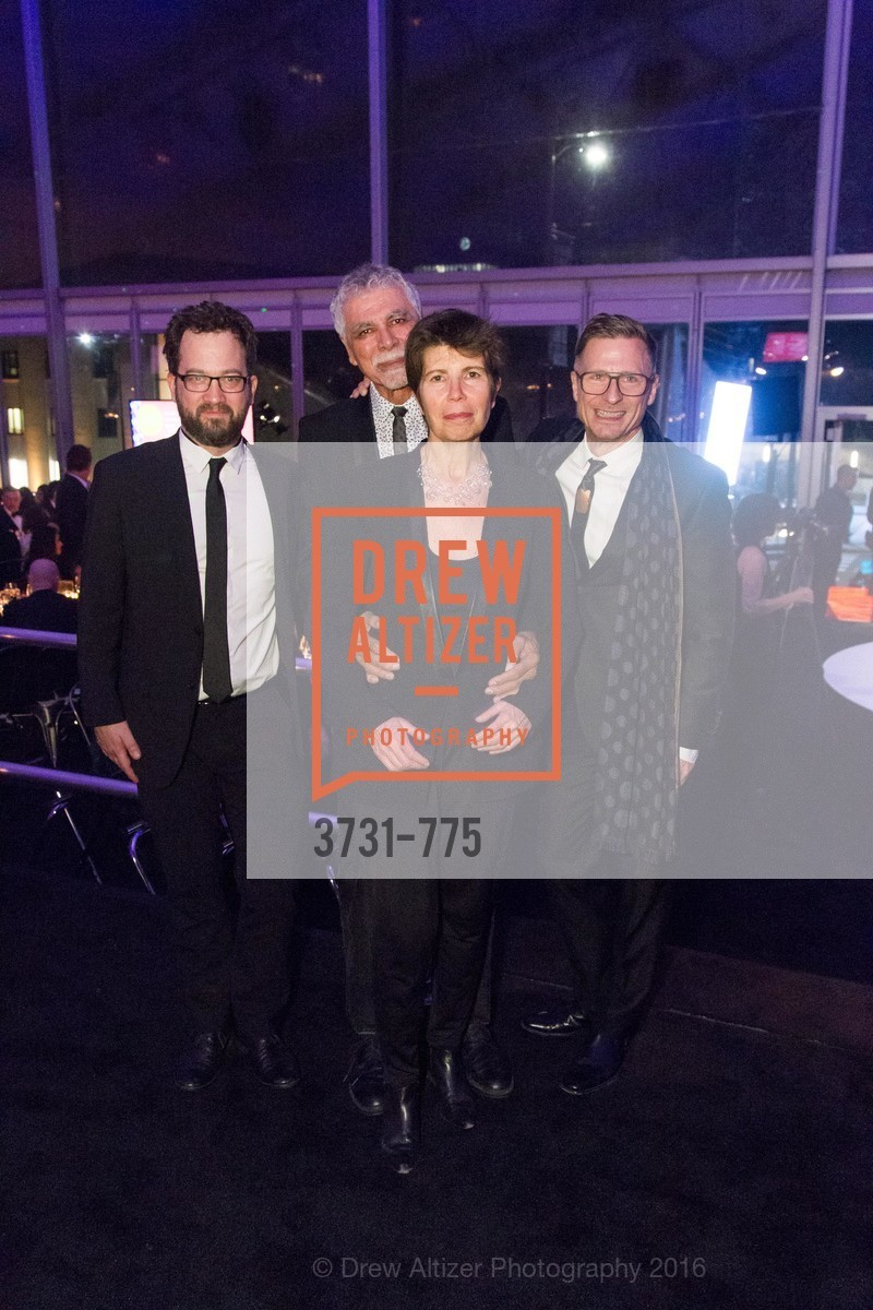Ben Gilmartin, Ricardo Scofidio, Elizabeth Diller, Charles Renfro, UC Berkeley Art Museum & Pacific Film Archive Gala, BAMPFA. 2120 Oxford Street, January 28th, 2016,Drew Altizer, Drew Altizer Photography, full-service agency, private events, San Francisco photographer, photographer california